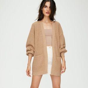 Aritzia Wilfred Free Rourke Sweater Cardigan
